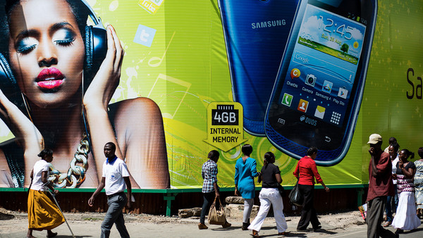 Smartphones & Africa: music to our ears.