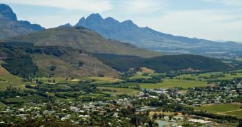 Franschhoek, South Africa © ChrisJoubert/iStock