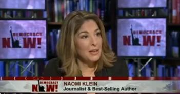 Naomi Klein on Democracy Now