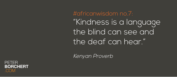 African Wisdom no. 7