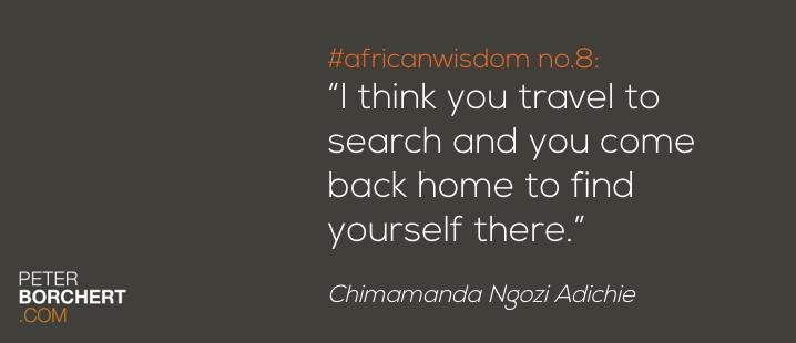 African Wisdom no. 8