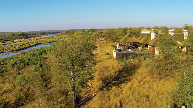 Mjejane home blending in with the surrounding bush. Photograph Mjejane Lifestyle